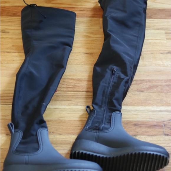 722c4ef00d73 Jeffrey Campbell Shoes - JEFFREY CAMPBELL Monsoon 2 OTK Rain Boot